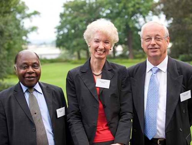VETERAN JUDGE. Thomas Mensah of Ghana (first from left) will hear the Philippines' case against China. File photo from the International Foundation for the Law of the Sea