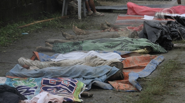 MORE DEATHS. Up to 139 people died in Compostela Valley due to Typhoon Pablo. Photo by Karlos Manlupig
