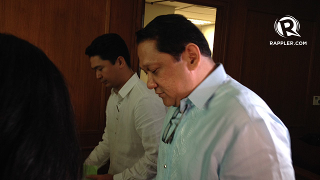COUNSEL. Collaborating counsel Alfredo Villamor knows Benhur Luy well. Photo by Bea Cupin/Rappler