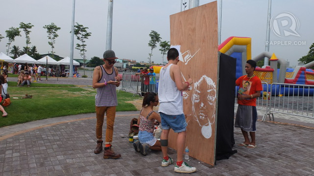 ARTISTS IN RESIDENCE. Artists create installation art on the grounds of Wanderland