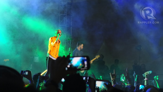 PUMPED UP. Neon Trees opened strong with their hit u00221983u0022
