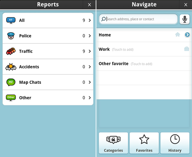 RELEVANT REPORTS. Get information related to your location through this GPS-powered app.