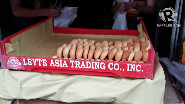HOT 'YOLANDESAL'. After Yolanda, trader Kenneth Uy opens the same business that his grandfather started in the 1930s when he first arrived in Tacloban - a bakery. Photo by Hector Go