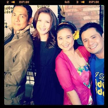 ZSA ZSA WITH HER 'I Do, Bidoo, Bidoo' castmates Gary Valenciano, Eugene Domingo and Ogie Alcasid. Instagram photo from the Zsa Zsa Padilla official fan page on Facebook